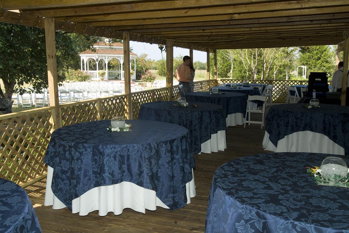 Simple DIY Farmhouse Wedding Venue Reception