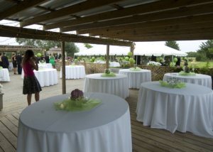 Outdoor Texas Farmhouse Wedding Reception