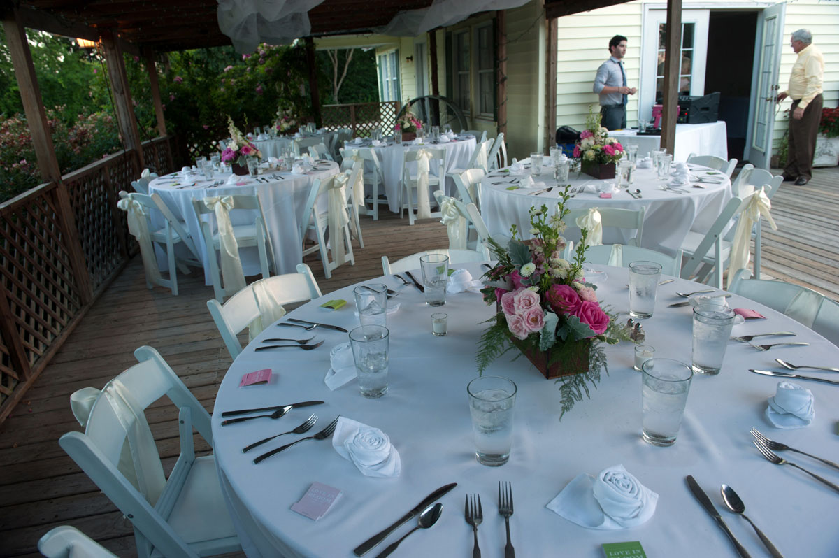 Country Chic Farmhouse Wedding Reception Local Venue
