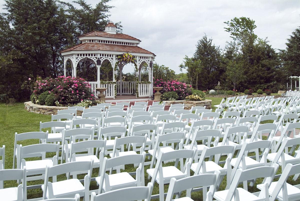 Gorgeous Garden Ceremony Destination