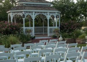 Local Wedding Garden Gazebo Ceremony Venue