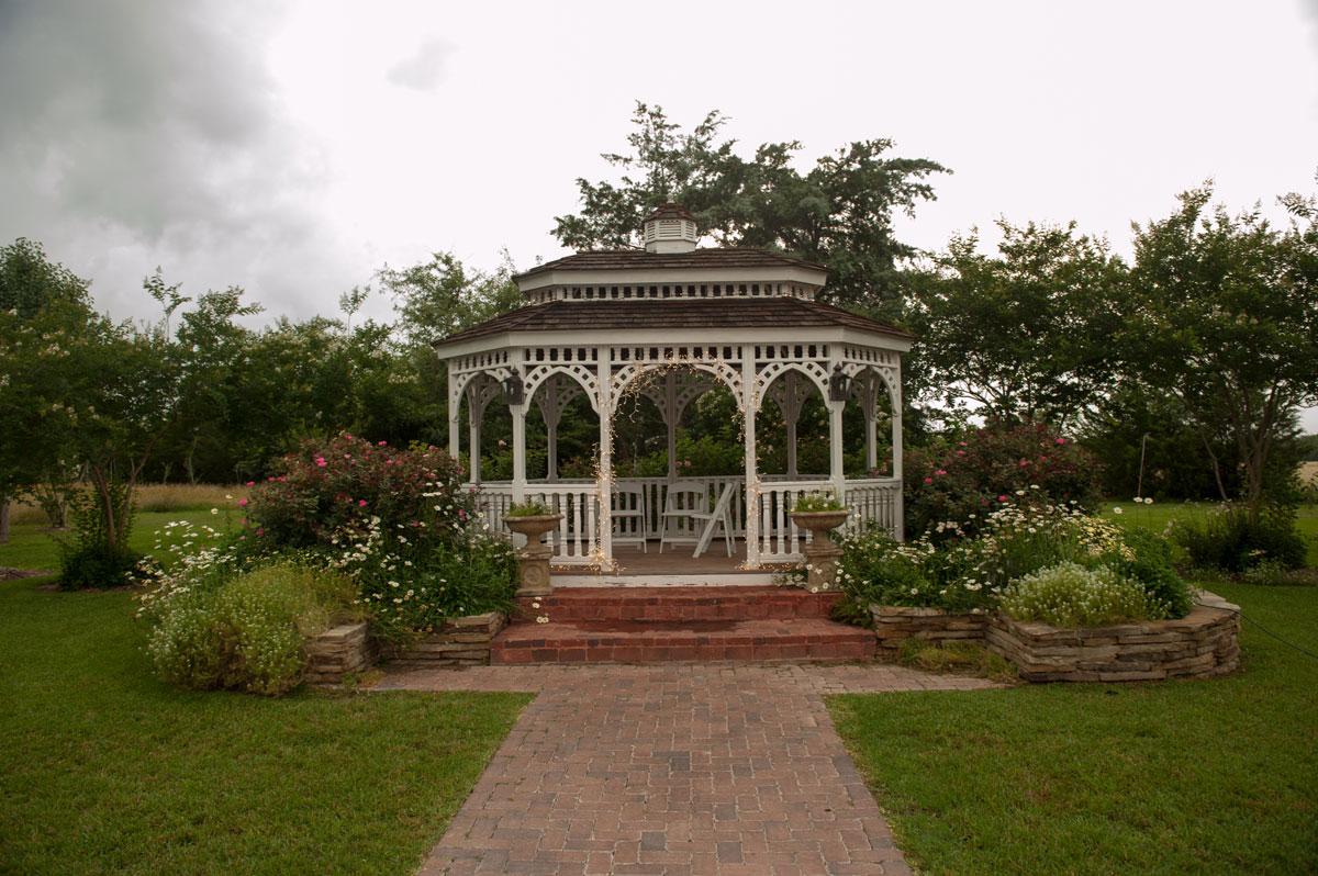 Destination Outdoor Garden Wedding Ceremony