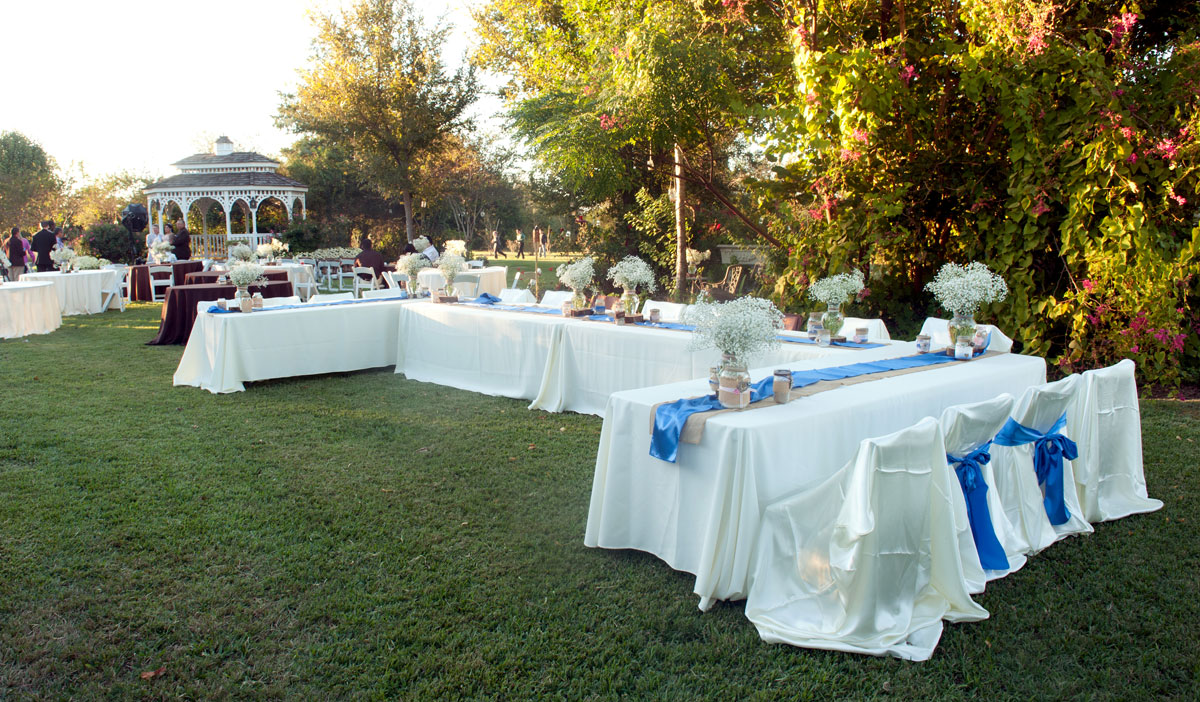 Local Garden Wedding Reception Venue