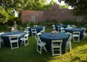 Stunning Wedding Garden Reception Venue