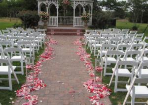 Romantic Ceremony Sites Garden Wedding Venue Texas