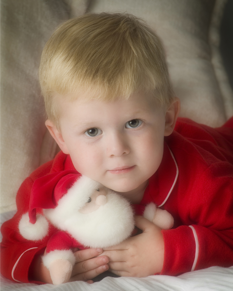 studio christmas children portraits