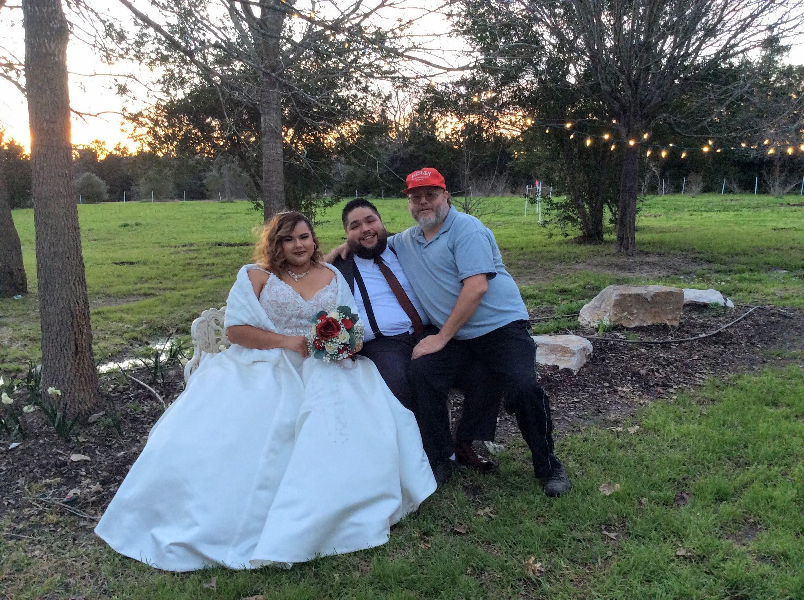 A few photos from Februarys wedding.