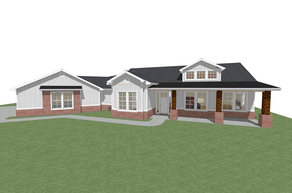 Middleton Custom Home - Rendering