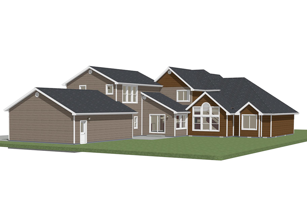Mountain Home Addition - Rendering