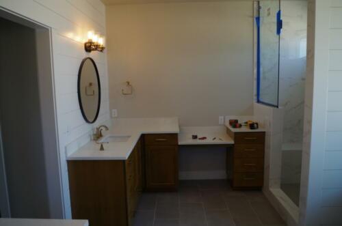 Master Bathroom with Barndoor
