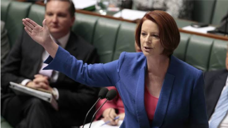 Julia Gillard misogyny speech