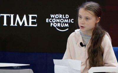 Speech 03:  Greta Thunberg (Our house is on fire)