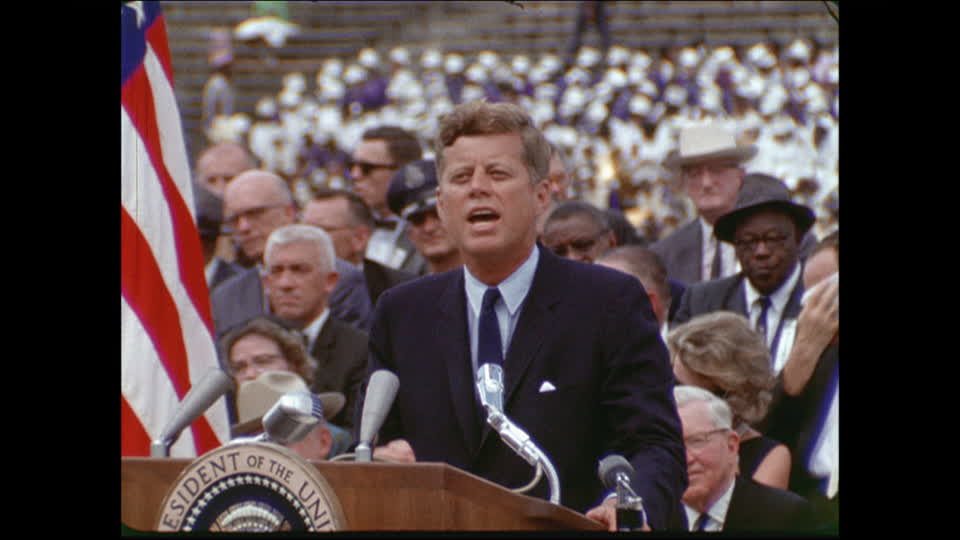 Speech 36:  John F. Kennedy (we choose to go to the moon)