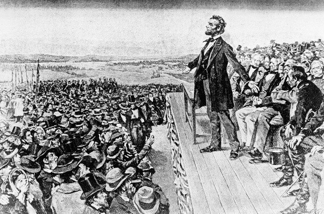 Speech 38:  Abraham Lincoln – Gettysburg Address