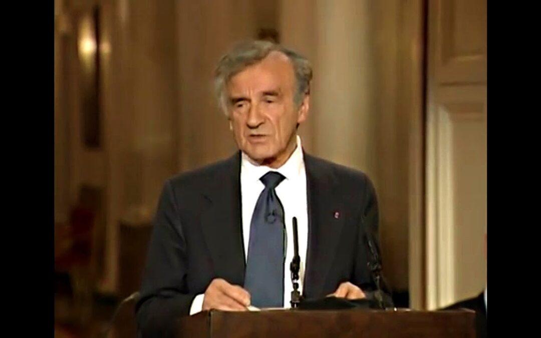 Elie Wiesel speech