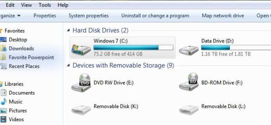 Add Your Favorite Folders to Windows File Explorer