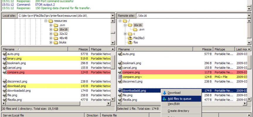 FileZilla – The Best Free Windows FTP SW