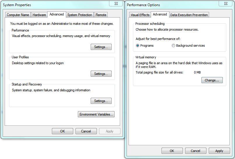 Hot PC Tips - Set Page File Virtual Memory