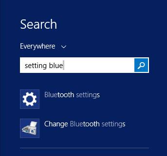 Hot PC Tips - Settings Bluetooth