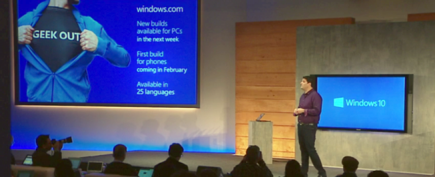 Are You Ready – Windows 10 Will be Here Soon
