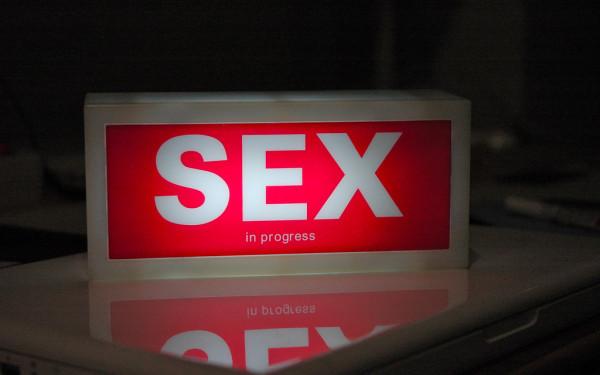 Sex in progress