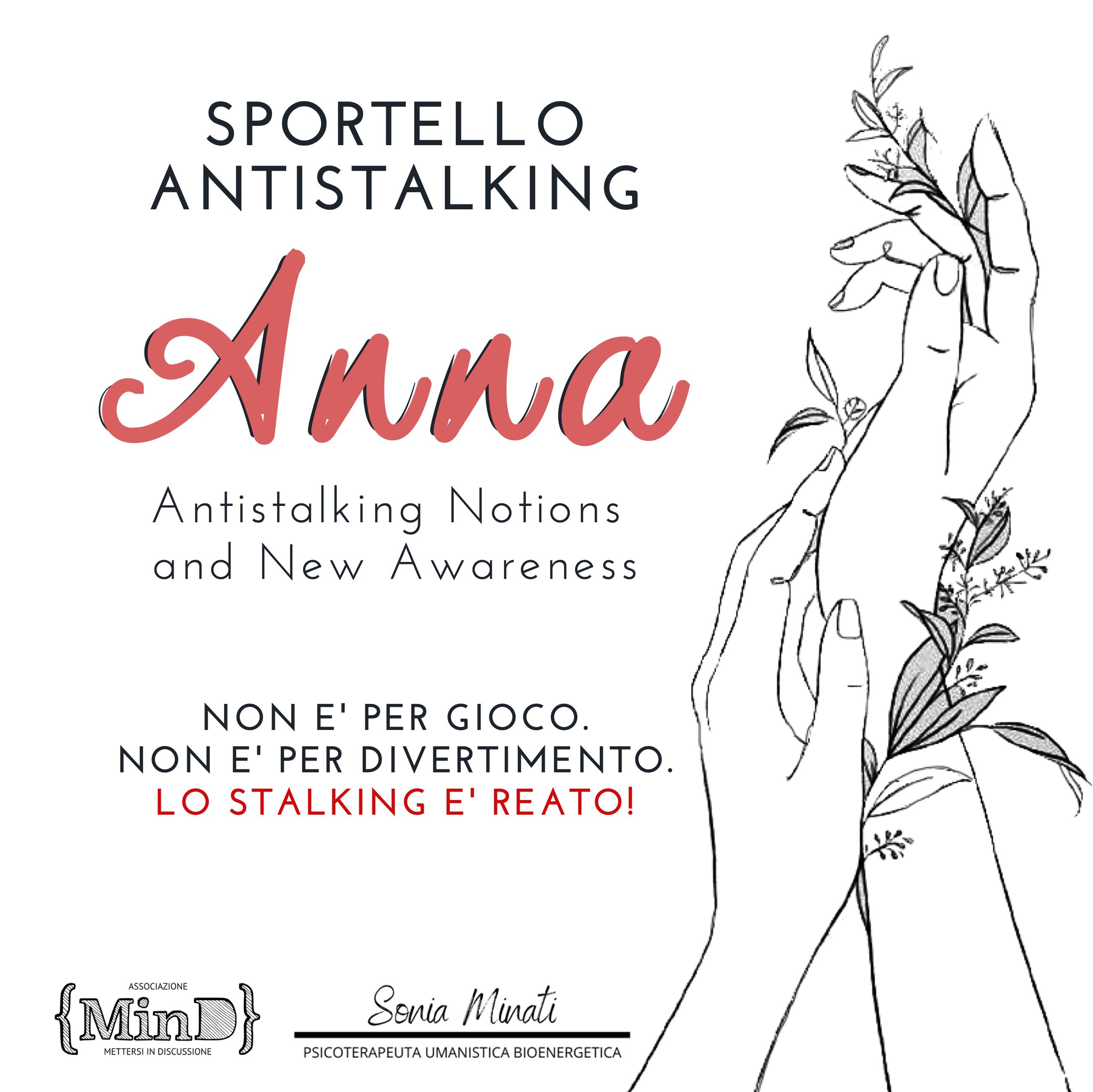 sportello antistalking