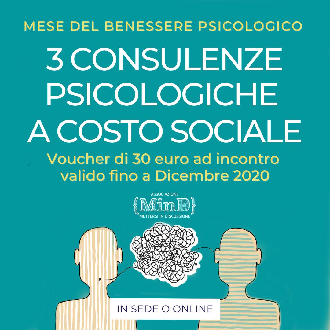 consulenze a costo sociale