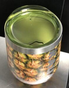Stainless Steel Pineapple Tumbler Lid