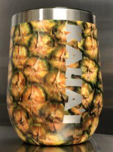 Stainless Steel Pineapple Tumbler