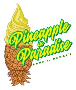 Paradise Cone Sticker