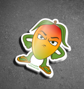Mad Mango Sticker