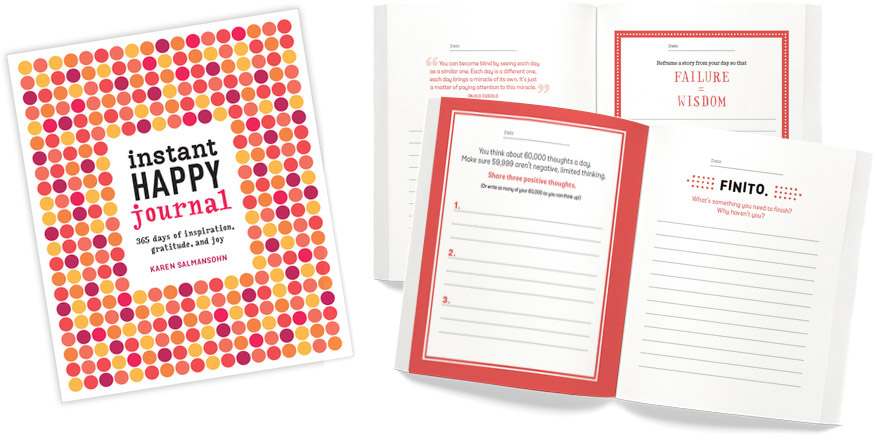 Instant Happy Journal: A Review | Making the Most Blog