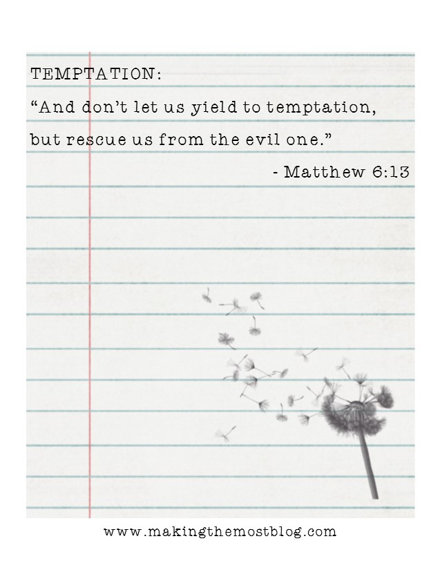 FREE! Printable Scripture Cards | Making the Most Blog