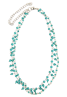 Trades of Hope Review: Delicate Blues Necklace | Making the Most Blog