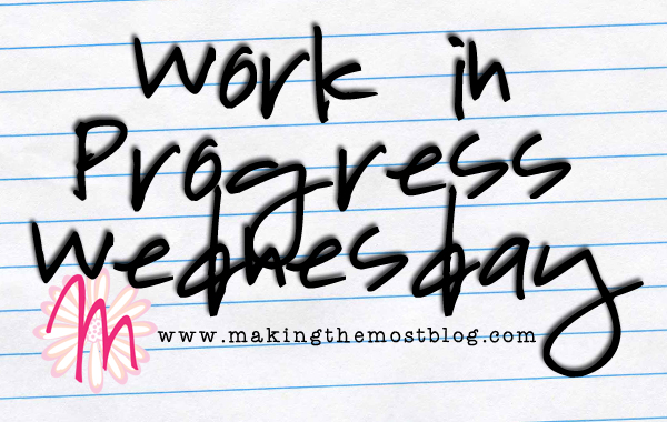 Work-in-Progress Wednesday   Making the Most Blog
