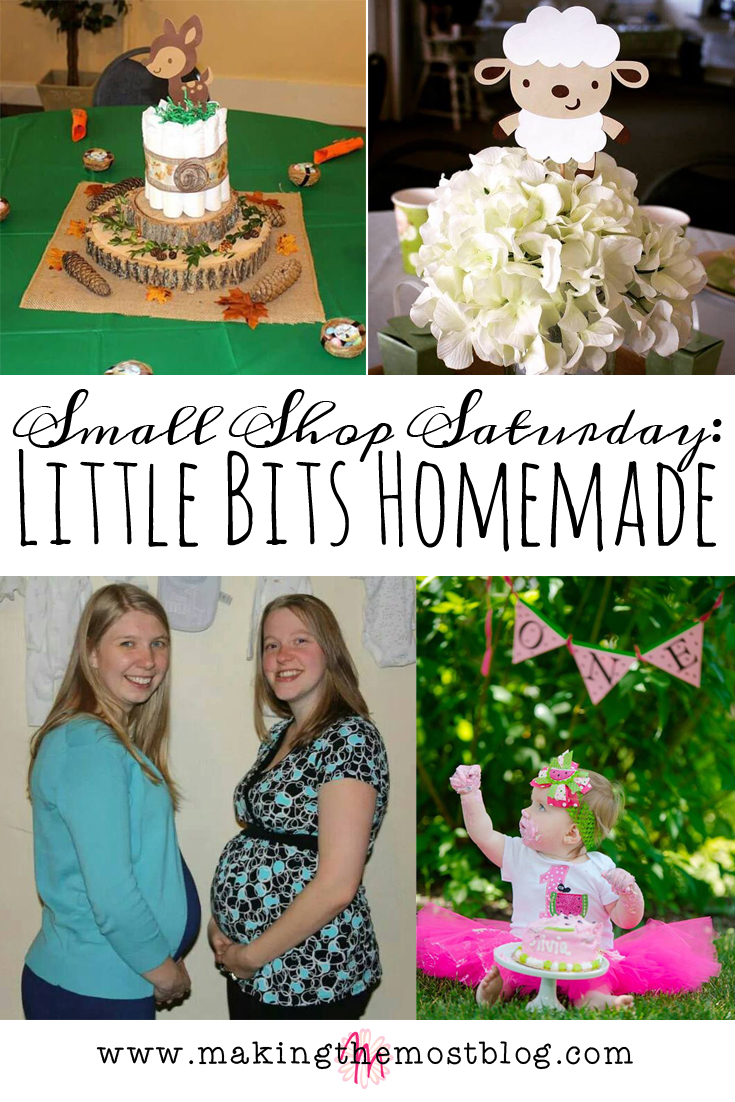 Small Shop Saturday: Featuring Little Bits Homemade   Making the Most Blog