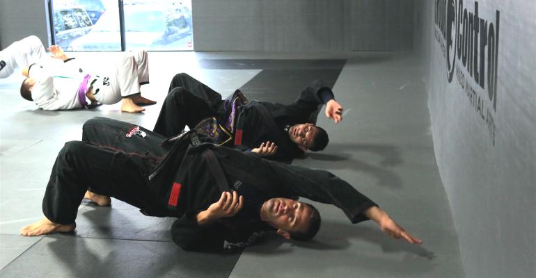 Brazilian Jiu-Jitsu Advanced Class