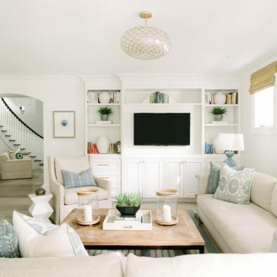 Manhattan Beach family room