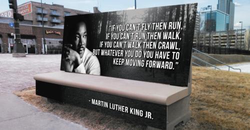 MLK Day 2018 Bench
