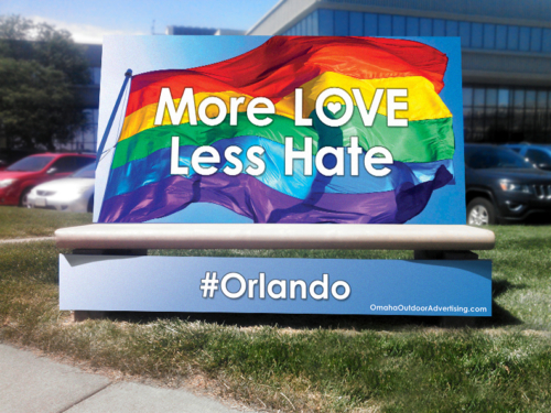 More Love Less Hate #Orlando