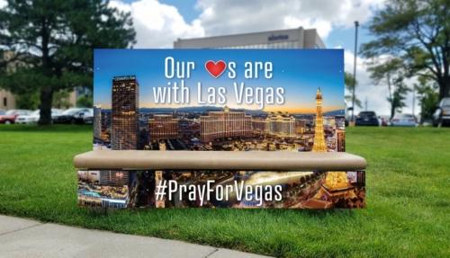 Pray for Vegas Bench
