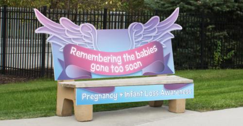 Pregnancy & Infant Loss Bench