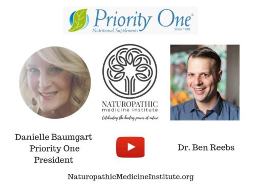 Our President, Danielle Baumgart & Dr. Ben Reebs in a video chat