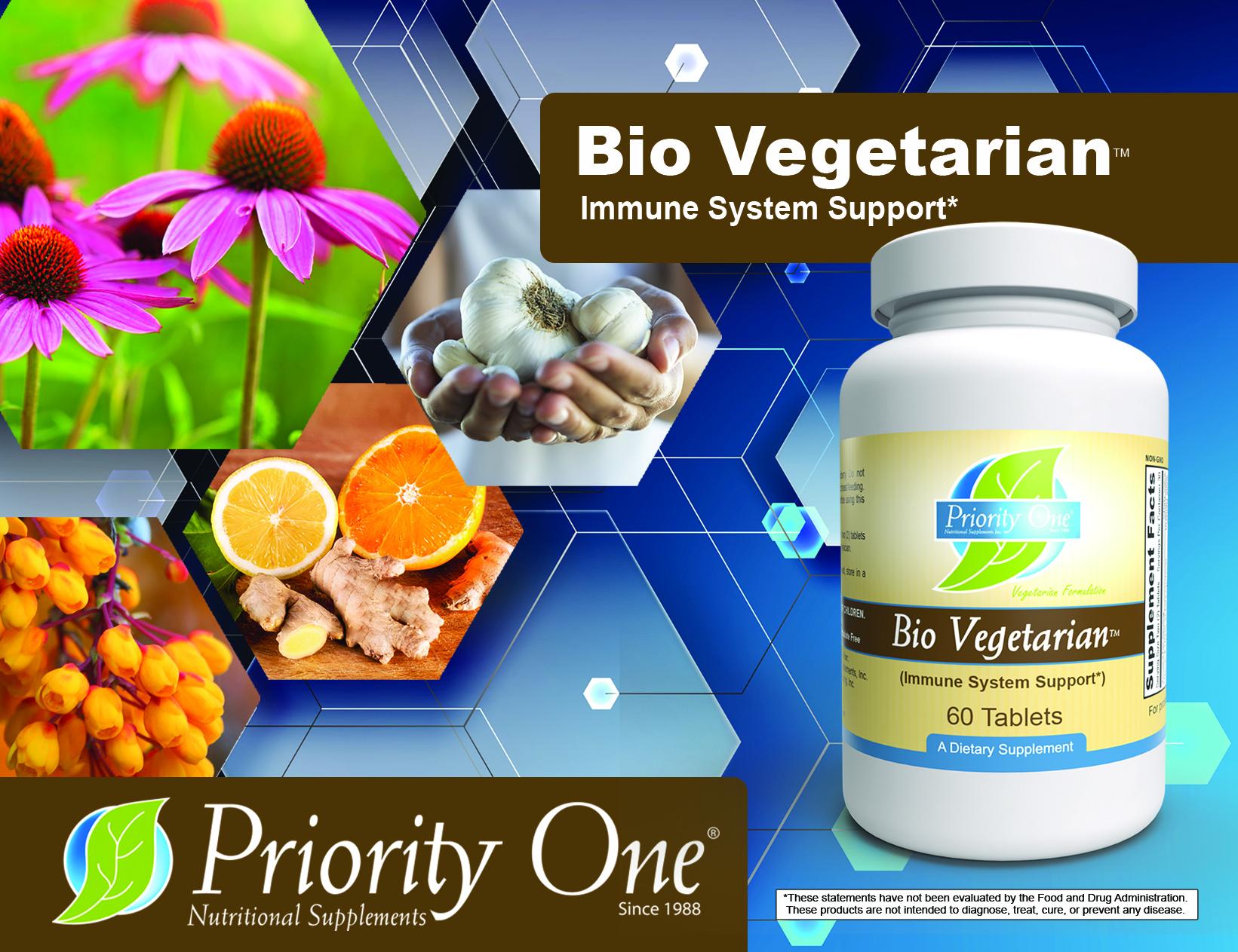 September Special – Bio Vegetarian at 20% off!