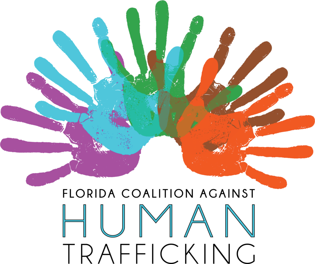 florida coalition against human trafficking logo - giving back