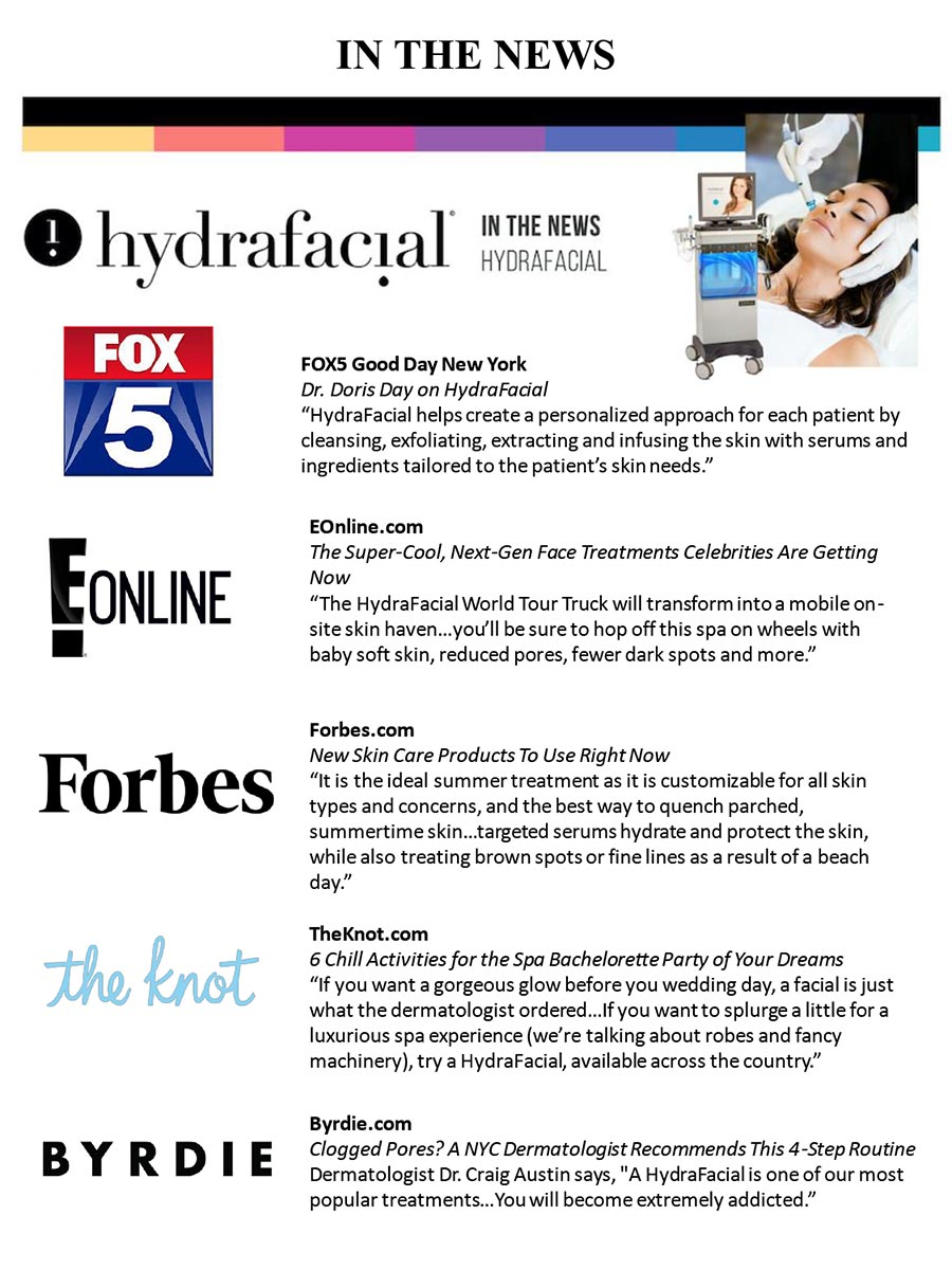 Hydrafacial in the News
