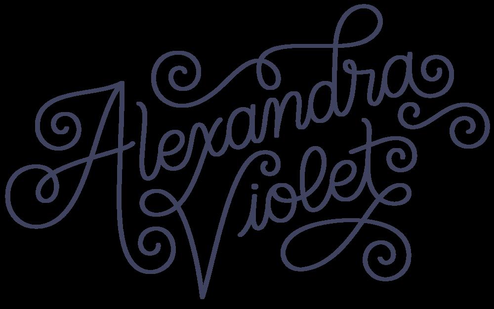 Alexandria Violet Logo