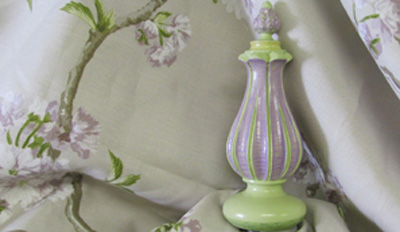 Beautiful Drapery Finial perfect matched