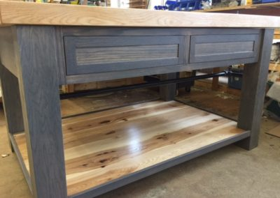 Custom Kitchen Island (SOLD!)