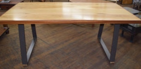 """Trapezoid"" Table (SOLD!)"